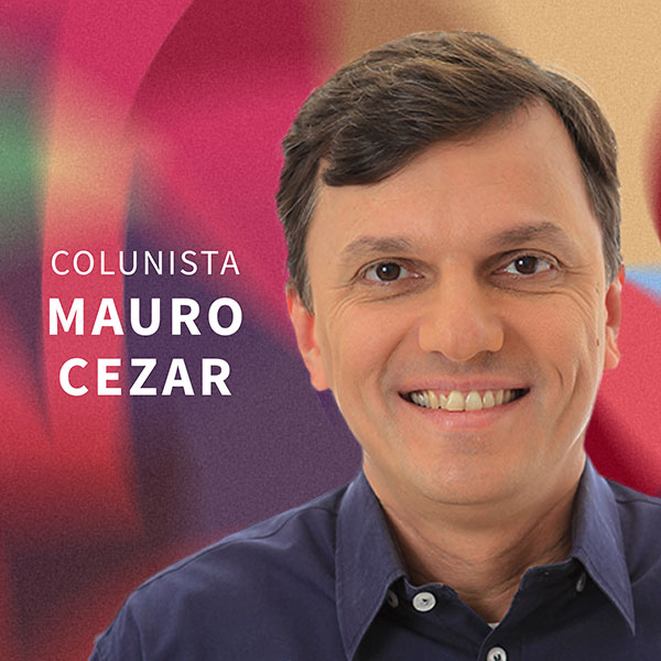 Foto do colunista Mauro Cezar para a Gazeta do Povo