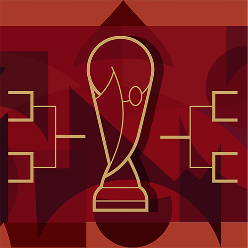 Ilustração da equipe da Gazeta do Povo que vai para a Copa do Mundo da Rússia 2018