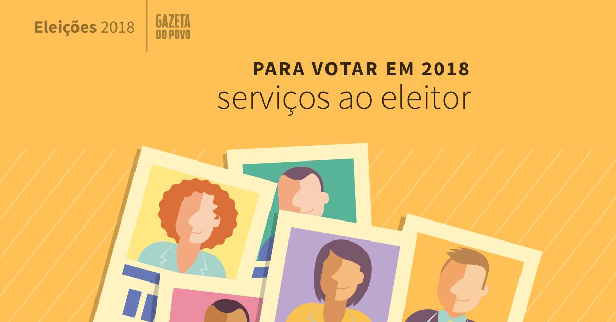 Serviços Eleitorais - Eleições 2018
