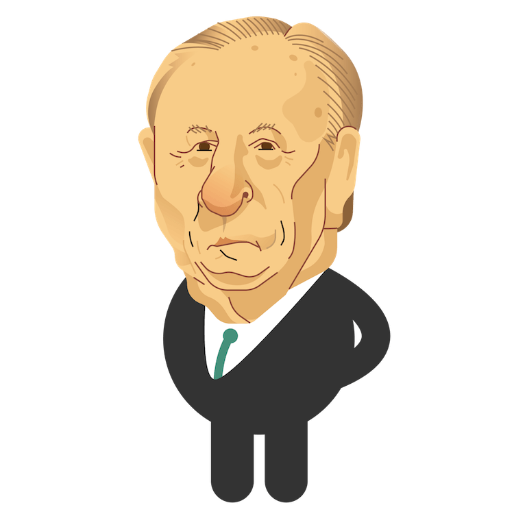 Caricatura do candidato Eymael