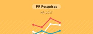 Pesquisa Paraná Pesquisas - maio 2017