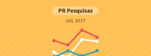 Pesquisa Paraná Pesquisas - julho 2017