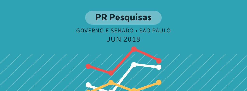 Governo de São Paulo: Doria lidera pesquisa