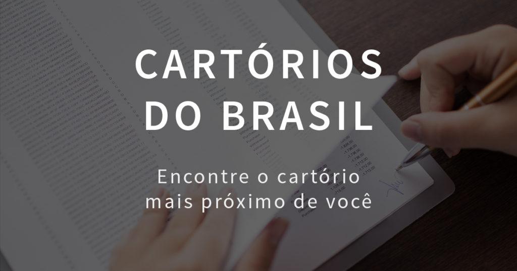 Confira na Gazeta do Povo o guia completo com os cartórios do Brasil. Veja agora mesmo!