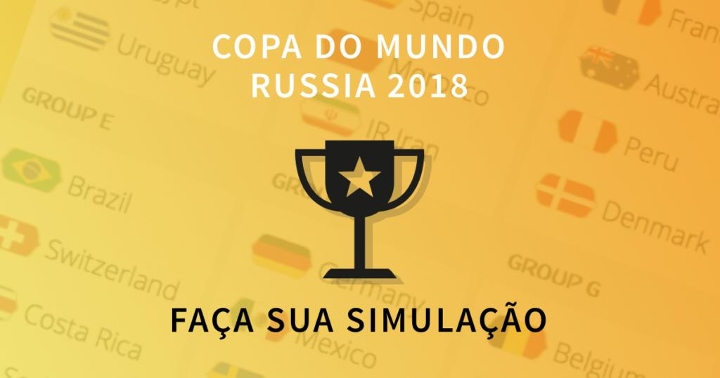 Simulador do campeão da Copa do Mundo 2018 na Rússia
