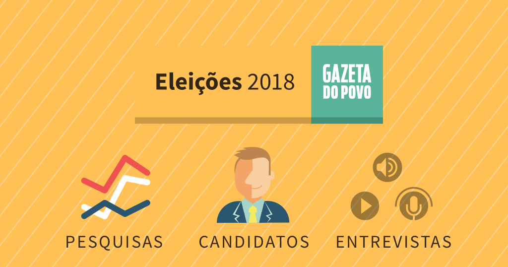 Conheça os possíveis candidatos das eleições 2018. Veja últimas notícias, gráficos de pesquisas eleitorais, debates e entrevistas na Gazeta do Povo.