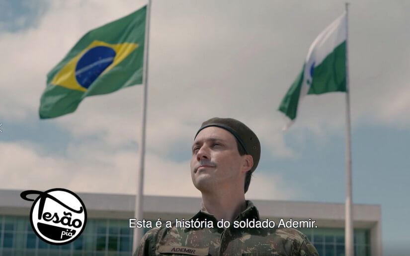 Tesão Piá apresenta: a 'guerra' do Soldado Ademir dentro de um busão na Grande Curitiba