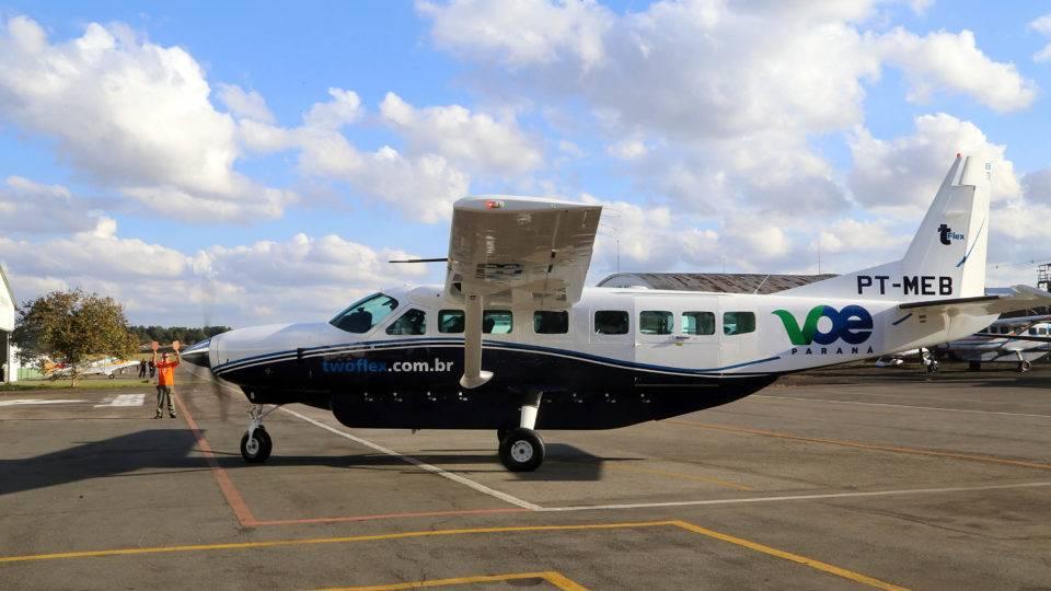 Cessna 208 Caravan: conheça o avião dos voos da Gol no Paraná