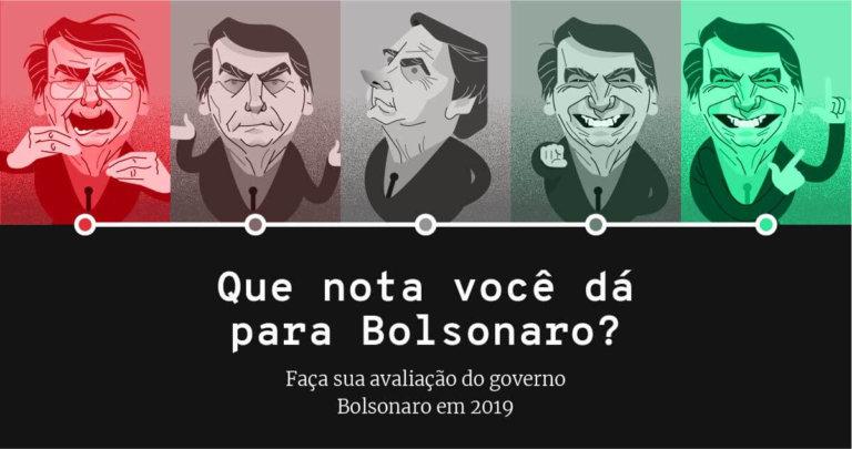 Avalie o primeiro ano do governo do presidente Jair Bolsonaro em 2019