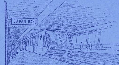 Metrô de Curitiba completa 50 anos… no papel
