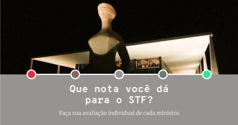 Quiz: Que nota você dá para os ministros do STF?