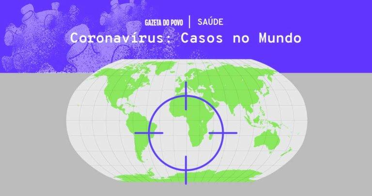 Com origem na China, coronavírus chega a mais de 100 países e faz da Itália o segundo lugar com mais casos e mortes