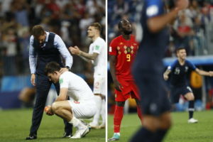 Choro da Inglaterra e da Bélgica na Copa do Mundo 2018. Fotos: Jonathan Campos/Gazeta do Povo