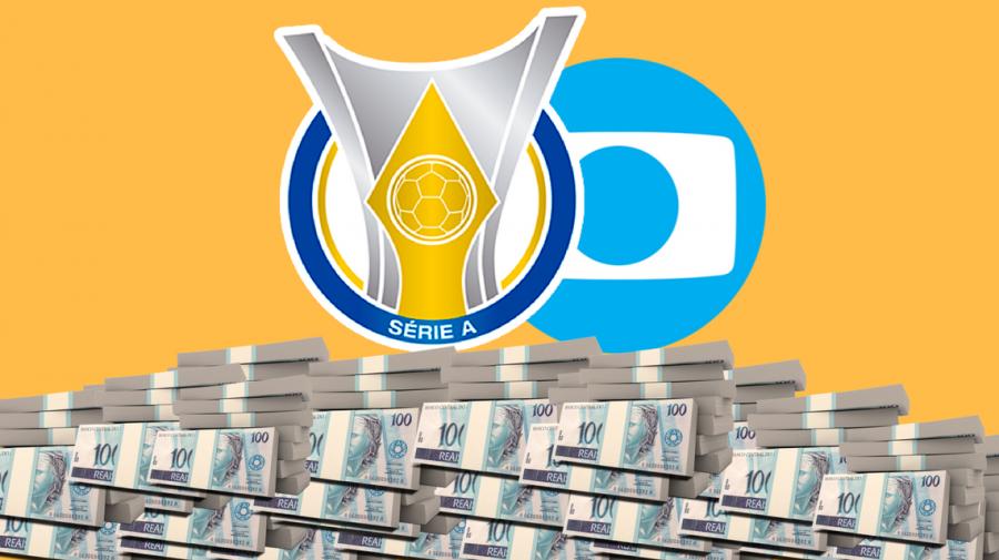 Projeção indica quanto cada clube irá ganhar da Globo no Brasileirão