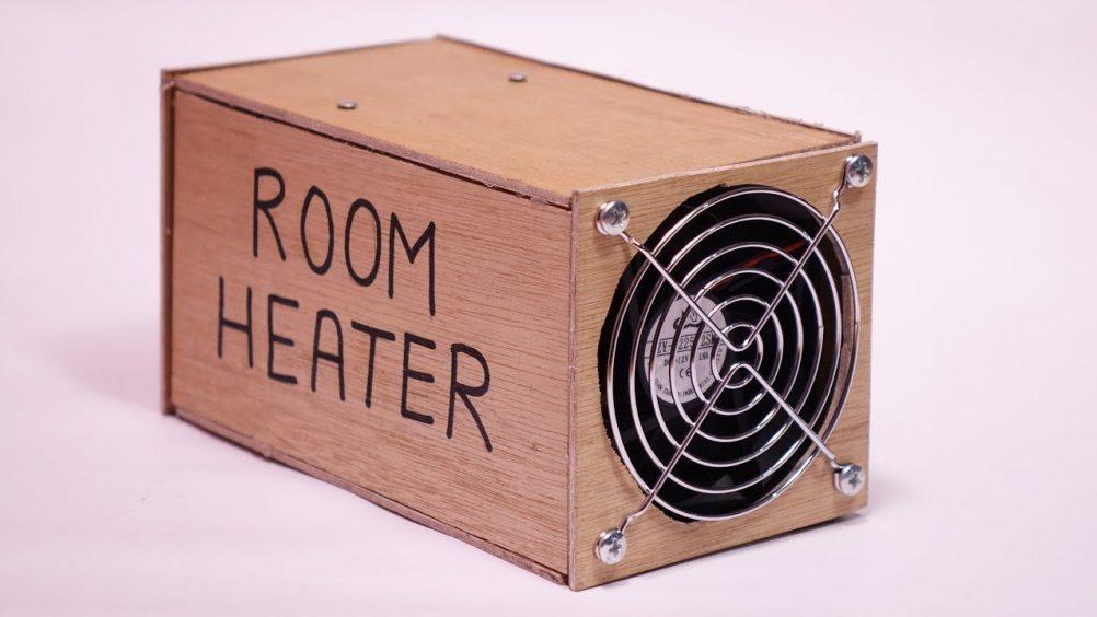 Como montar um aquecedor caseiro com menos de R$ 50