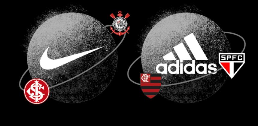 Fornecedores de camisas e uniformes no Brasileirão 2019