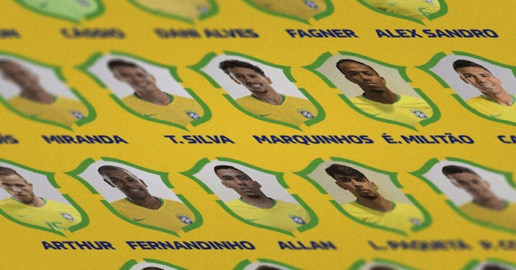 Seleção Brasileira: Convocados para a Copa América 2019