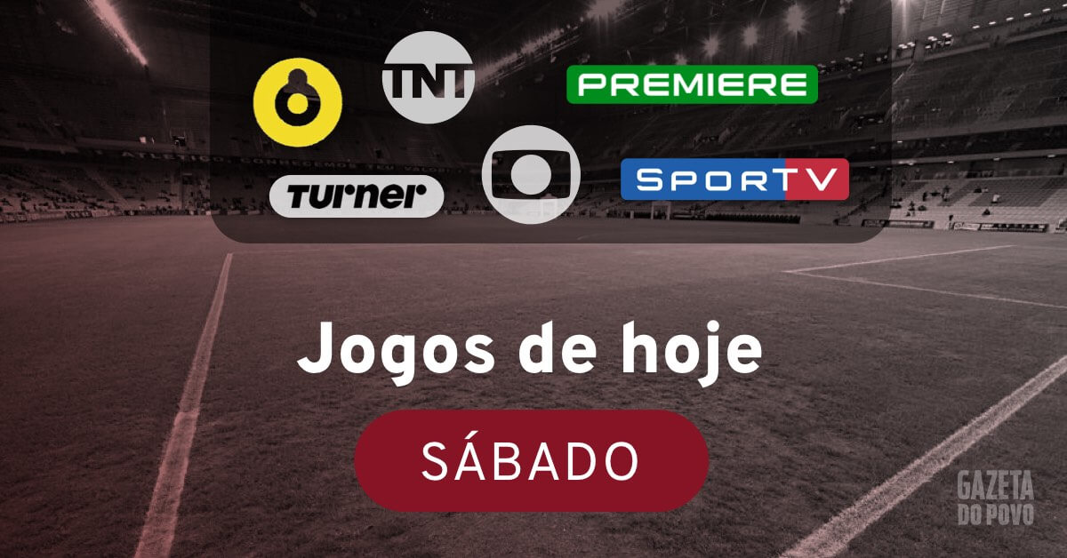 Jogos De Hoje Brasileirao Ao Vivo Na Tv Sabado 18 Maio Futebol