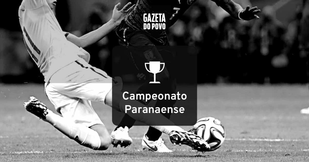 Tabela do campeonato paranaense 2020
