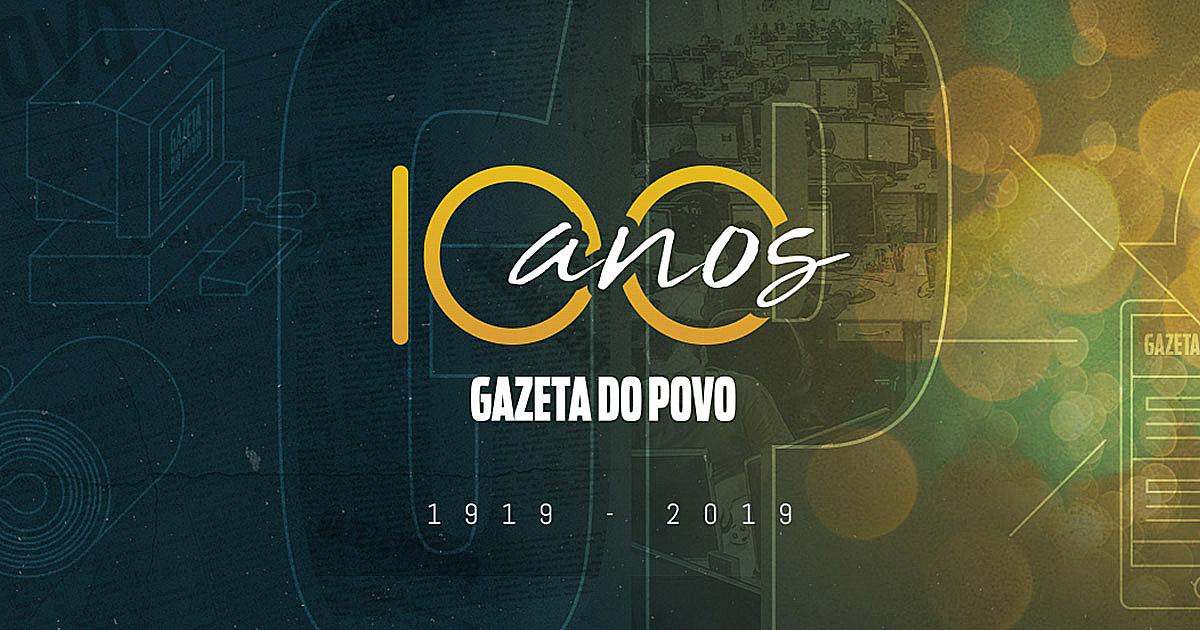 Os 100 anos da Gazeta do Povo